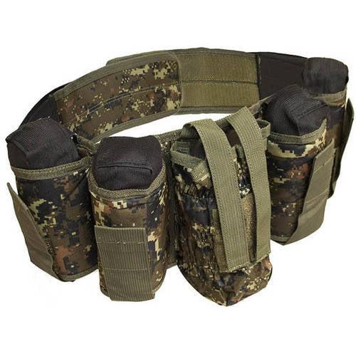 ALEKO PBAH1C Paintball Harness Belt Heavy Duty, Digital Camouflage Green Design by ALEKO