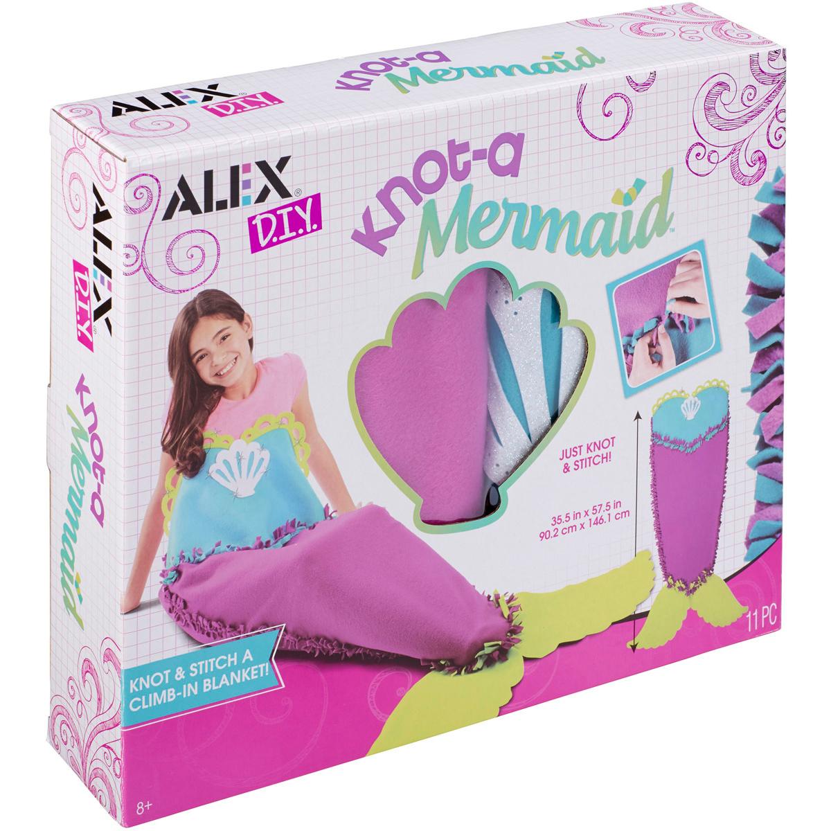 Alex DIY Knot a Mermaid