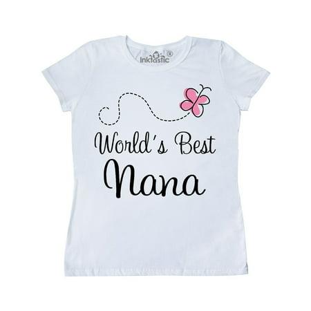 Pink World's Best Nana Women's T-Shirt