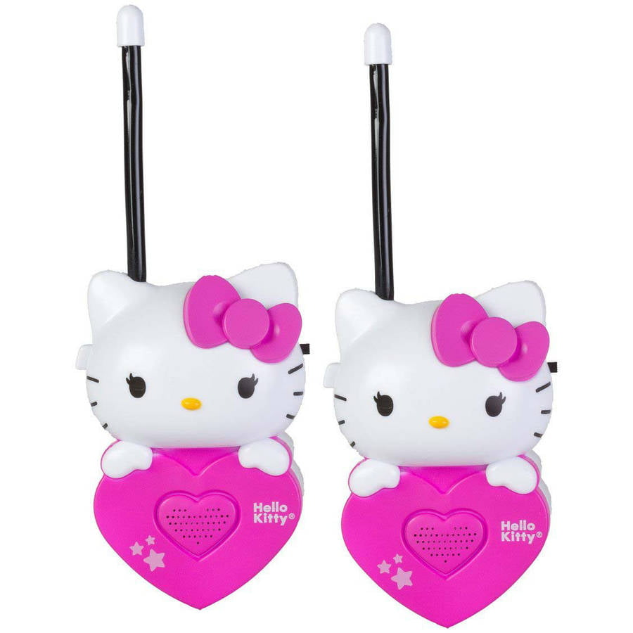 Hello Kitty Walkie Talkie Set by Hello Kitty