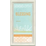 Carpentree Simply White 'You Are a Blessing' Framed Textual Art