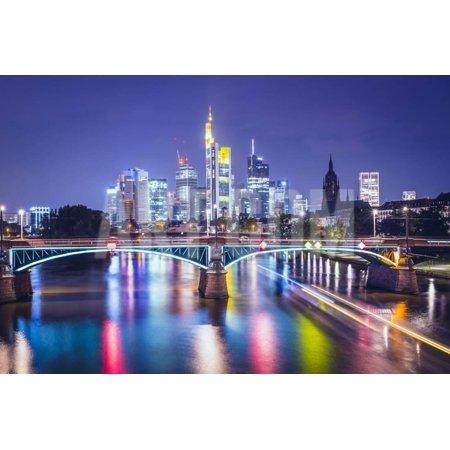 Frankfurt Am Main, Germany Financial District Skyline. Print Wall Art By SeanPavonePhoto - Halloween Frankfurt Germany