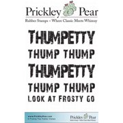 Prickley Pear Cling Stamps 3 Inch X 2.5 Inch-Thumpetty Thump