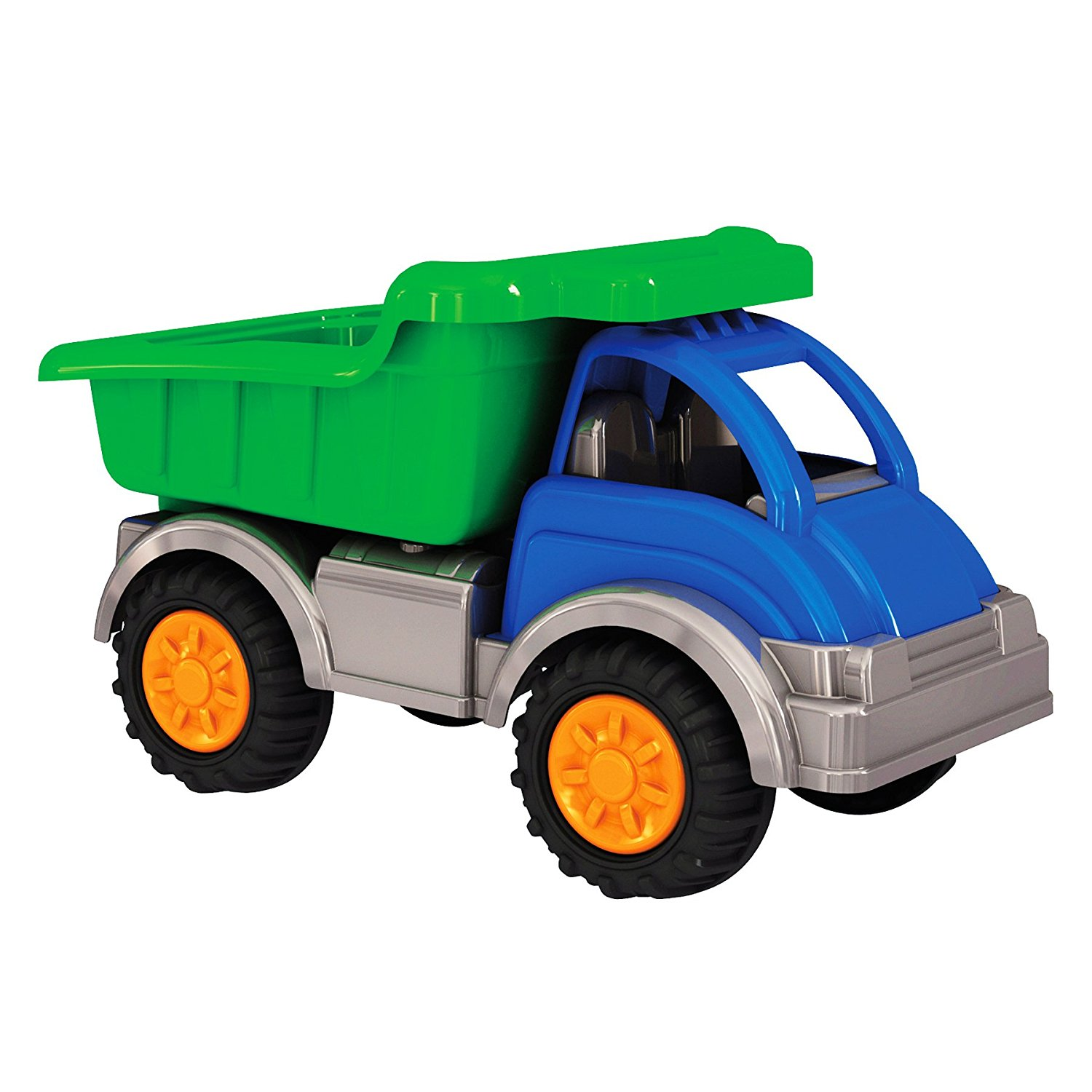 Gigantic Dump Truck, Large tilting dump bed By American Plastic Toys Ship from US by