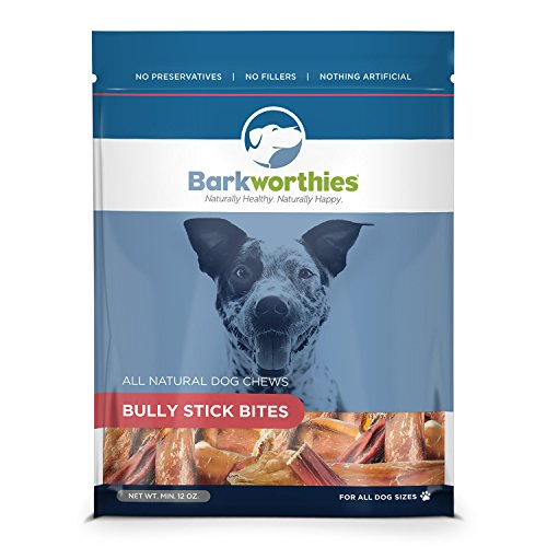 Barkworthies Bully Stick/Bully Bites Treat, 12 oz.