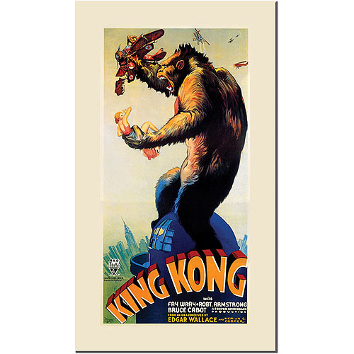 "Trademark Fine Art ""King Kong"" Canvas Art"
