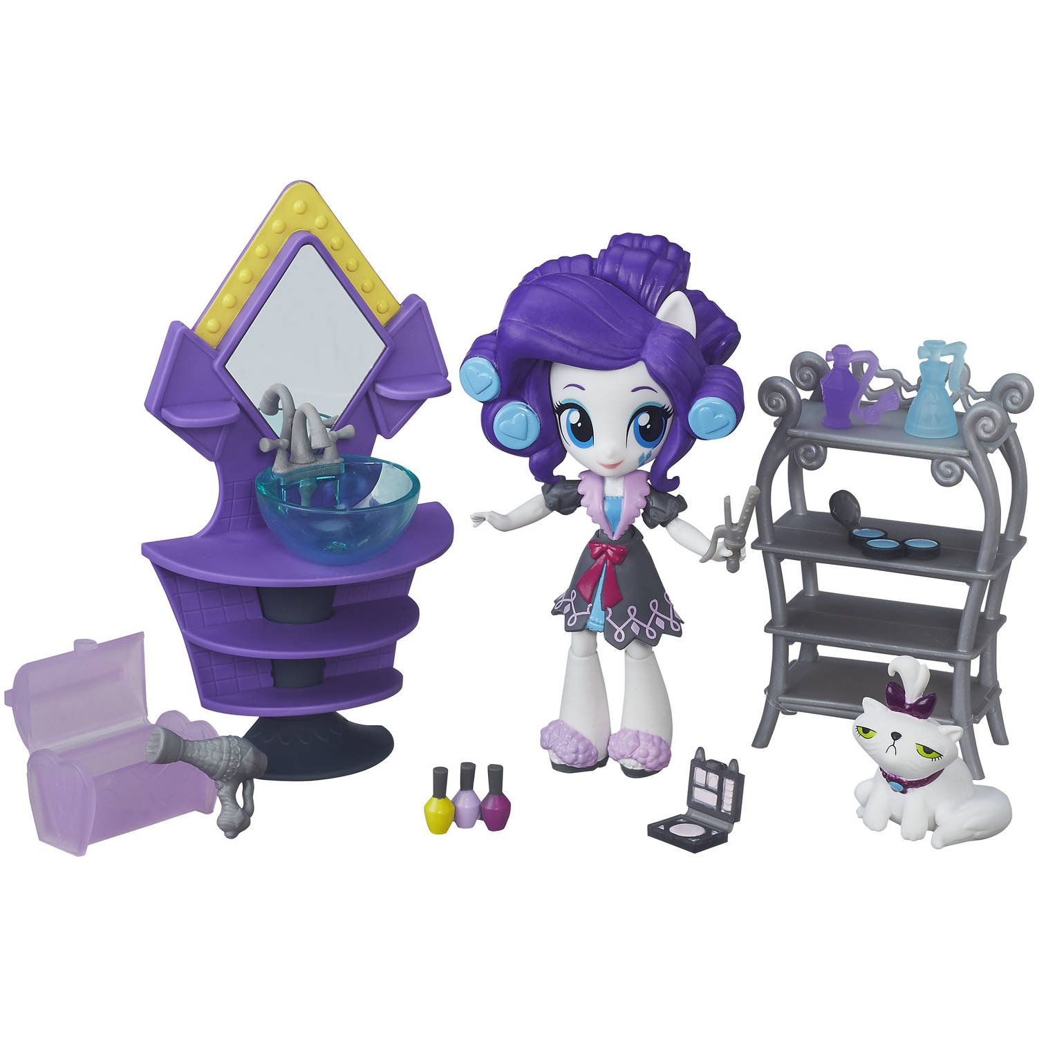 My Little Pony Equestria Girls Minis Rarity Slumber Party Beauty Set by Hasbro