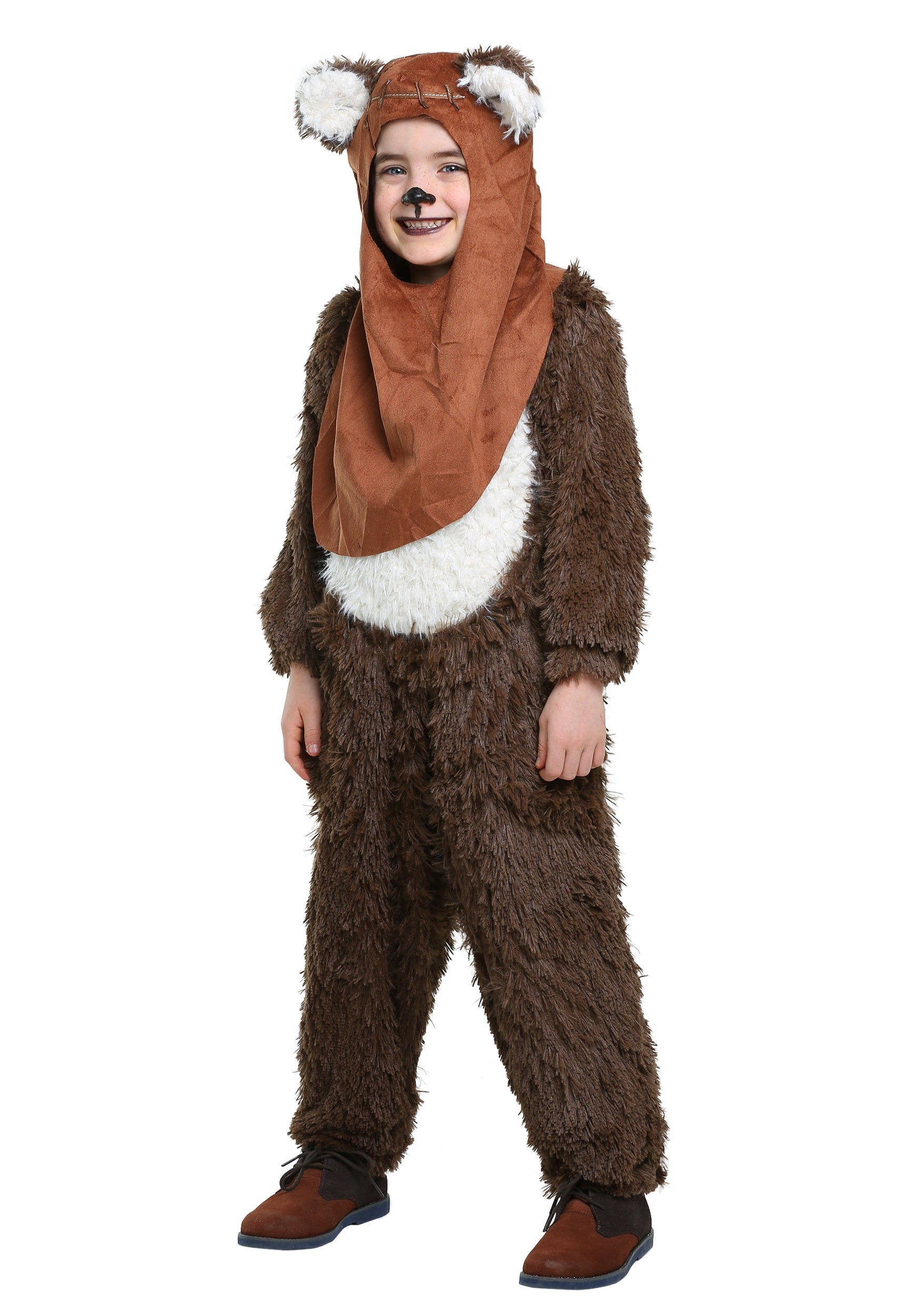169215f09 Child Deluxe Wicket/Ewok Costume - image 1 of 4 zoomed image