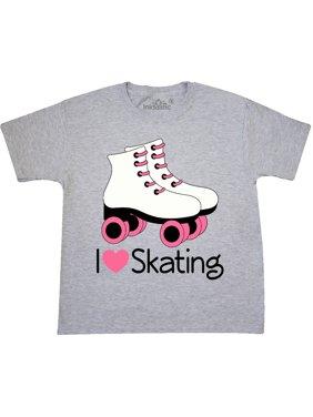 ee2a054fa Product Image Girls I Heart Skating Youth T-Shirt