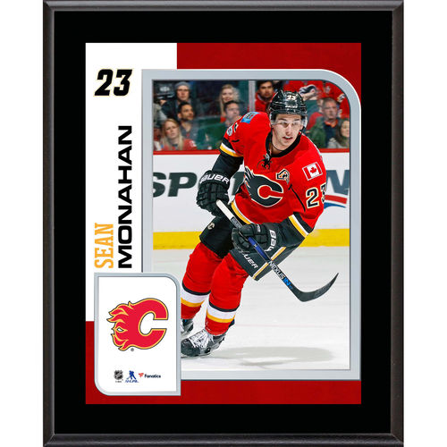 """Sean Monahan Calgary Flames 10.5"""" x 13"""" Sublimated Player Plaque - No Size"""