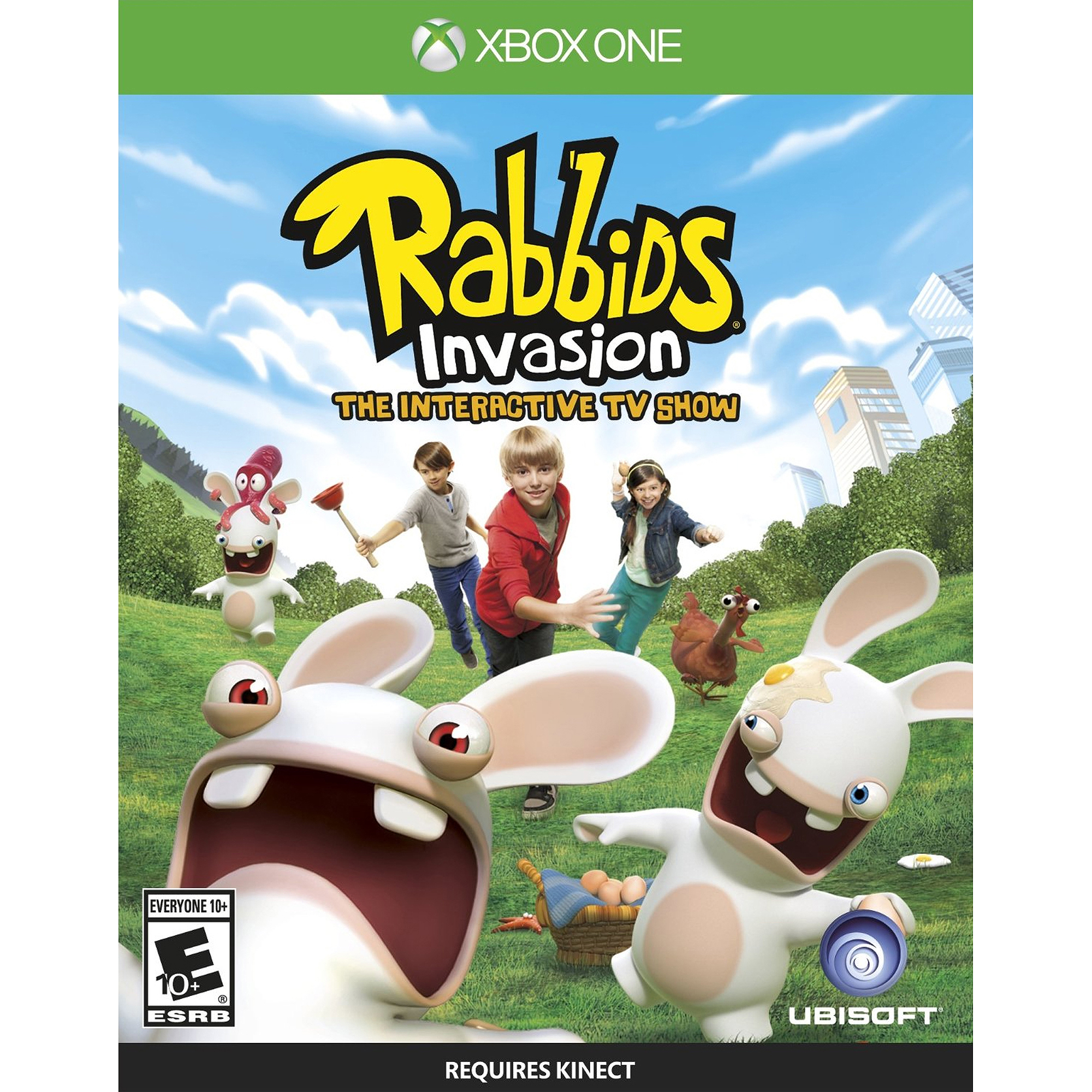 Rabbids Invasion (Xbox One) Ubisoft, 887256301767 by Ubisoft Entertainment SA