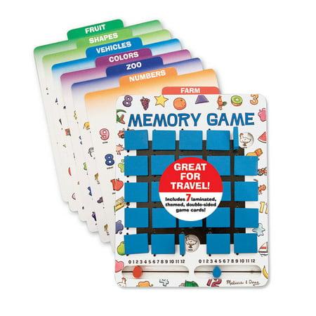 Melissa & Doug Flip to Win Memory Game](Melissa And Doug Basic Skills Board)