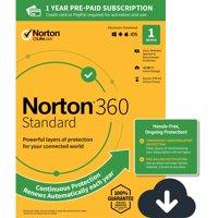 NORTON 360 STANDARD, 1-Year Subscription, 1 DEVICE, PC, MAC [Digital Download]