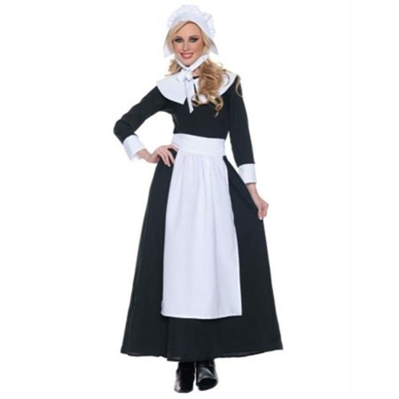 Costumes For All Occasions Ur29167Lg Pilgrim Woman Large - Woman Pilgrim Costume