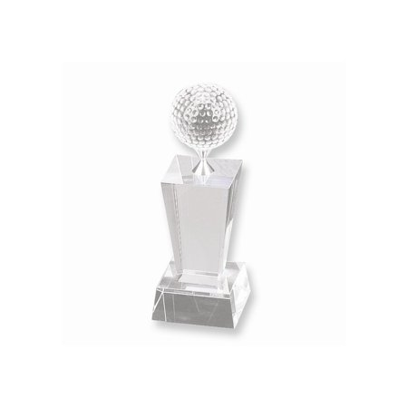Small Crystal Golf Trophy](Small Trophy)