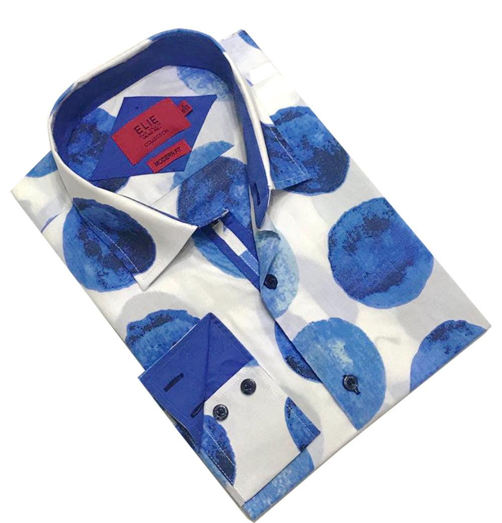 Elie Balleh Wild Balls Men/'s Dress Casual Button Down Shirts