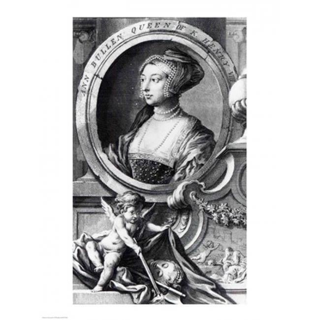 Posterazzi BALXJF373248 Anne Boleyn Poster Print by Hans Holbein - 18 x 24 in. - image 1 de 1