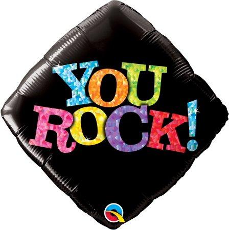 Qualatex You Rock! Black Diamond 18