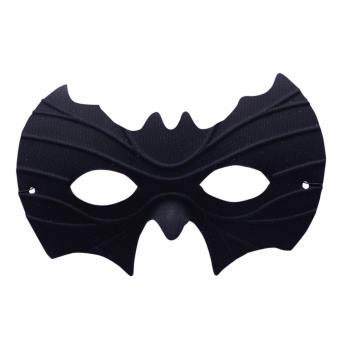 HALF MASK-BAT 12 PACK - Bat Mask Halloween