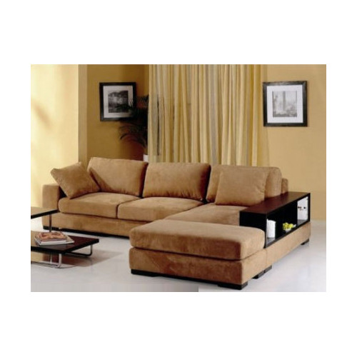 Hokku Designs Sectional with Ottoman by