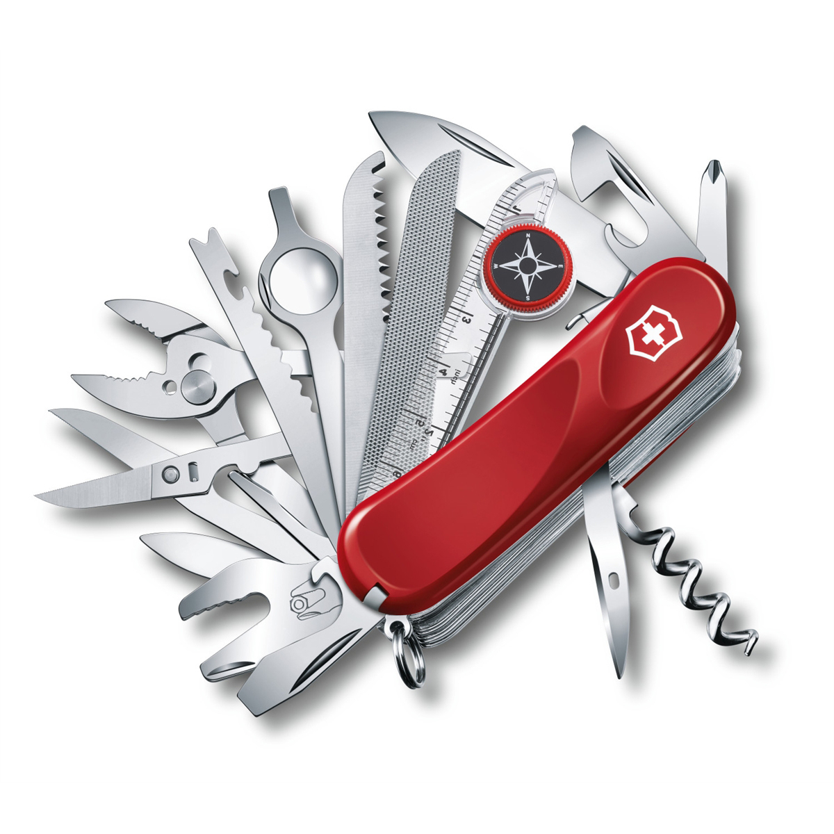 Victorinox Swiss Army Knife Multi-Tool Evolution S54 Tool Chest Plus - Red