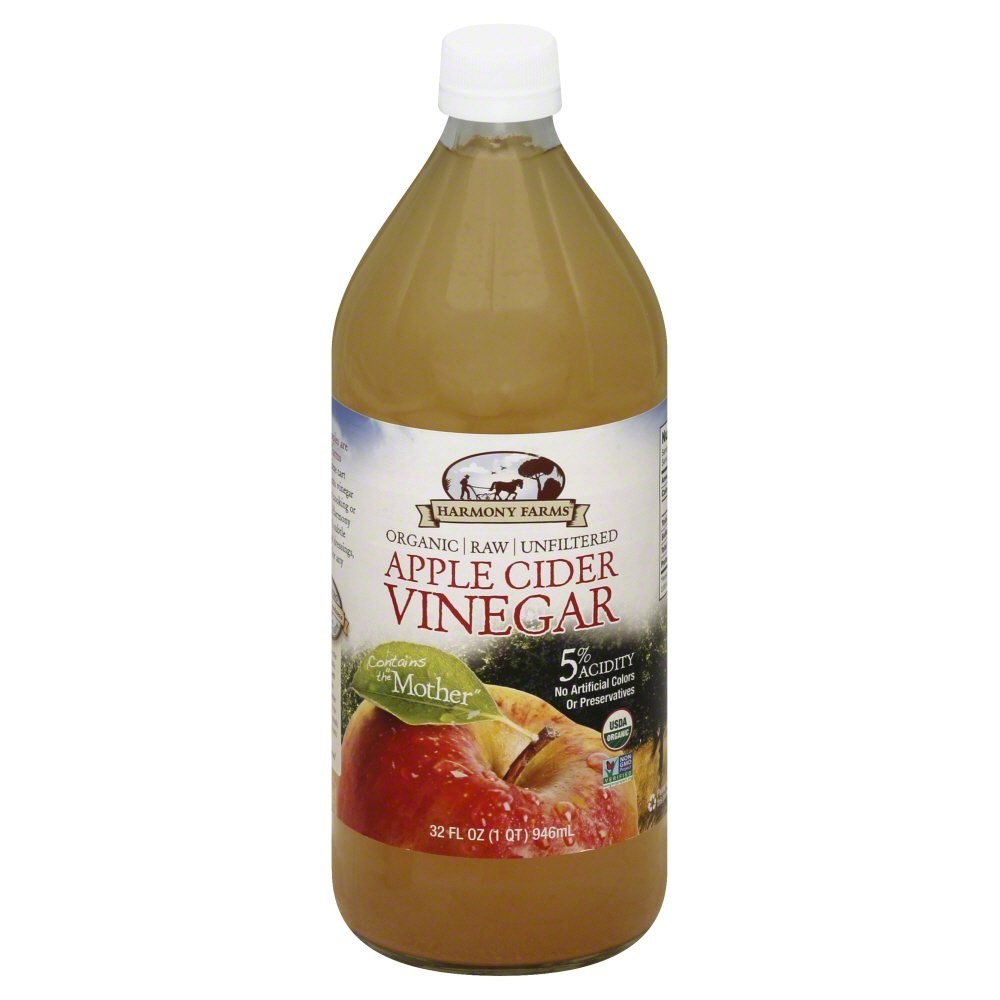 Where is apple cider vinegar sold