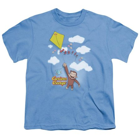 Youth: Curious George - Flight Apparel Kids T-Shirt - Blue