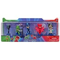 Disney Junior PJ Masks Romeo, Gekko, Catboy, Owlette& Night Ninja Figure 5-Pack