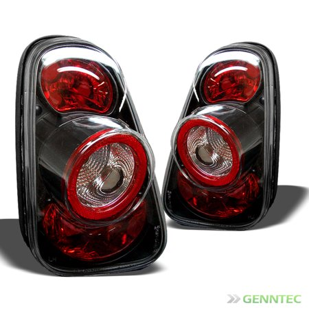 For 2002-2006 Mini Cooper Altezza Black Tail Lights Rear Brake Lamp  New Pair Left+Right 2003 2004 2005