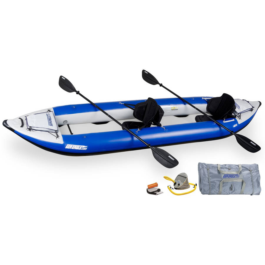 Sea Eagle Explorer Inflatable Kayak 420XK Pro by Sea Eagle