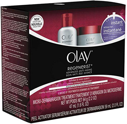 2 Pack Olay Regenerist Advanced Anti-Aging Micro-Dermabra...