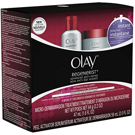 2 Pack Olay Regenerist Advanced Anti-Aging Micro-Dermabrasion Treatment
