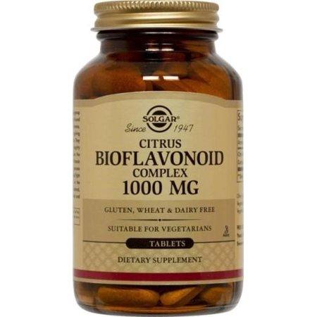 Solgar Citrus Bioflavonoid Complex 1000 mg Tablets, 250 (Bioflavonoid Supplement)