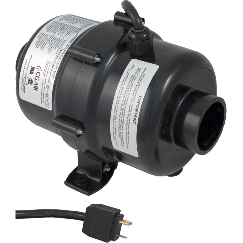 Blower, CG Air Millenium, var-spd, 115v, 7.0A, 3ft Molded Cord