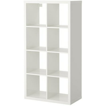 Ikea Kallax Bookcase Shelving Unit Display High Gloss white Shelf 6214.21723.104 ()