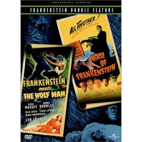 Frankenstein Meets The Wolf Man / House Of Frankenstein (Double Feature) (Full Frame)