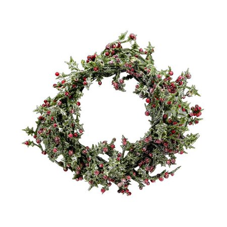 SPC Wreath Mini W/Red Berries 4