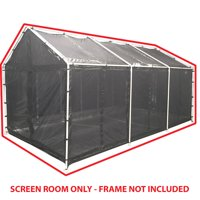 King Canopy 10 ft x 20 ft Carport Canopy Screen Room Cover
