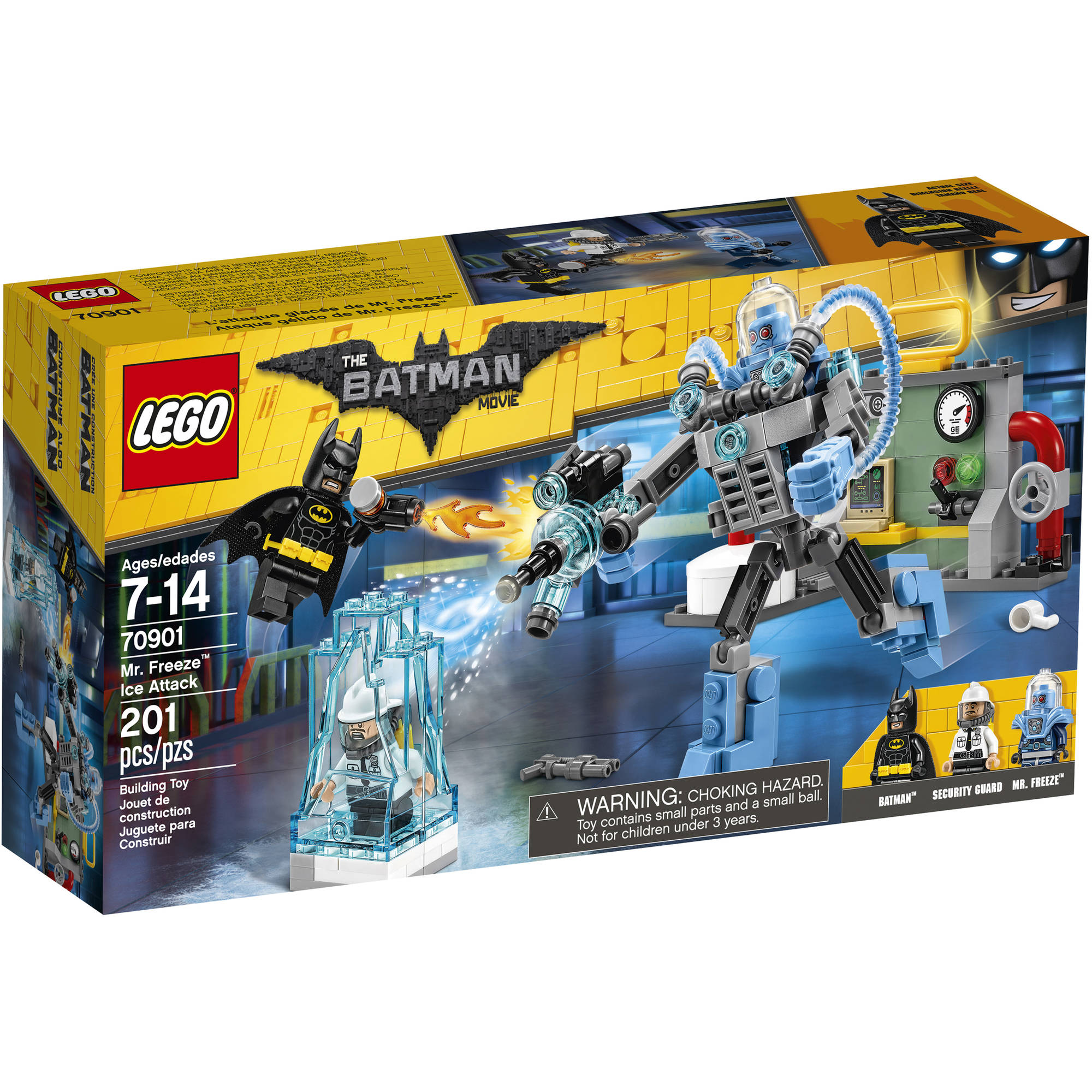 "LEGO Batman Movie Mr. Freeze"" Ice Attack"