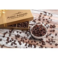 Andy Anand's California Chocolate covered Raisins 1 LB, for Birthday, Valentine Day, Gourmet Christmas Holiday Food Gift Basket, Thanksgiving, Mothers Fathers Day, Get Well Basket Idea for Men & Women
