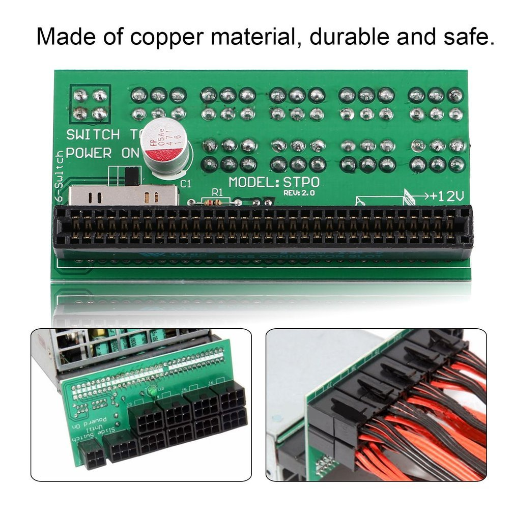 Power, Garden & Hand Tools DPS-1200FB QB A 6 Pin Power Supply Breakout Board Adapter for Ethereum Mining Cordless Tool Accessories
