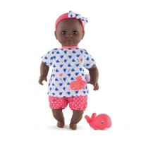 Corolle Mon Premier Baby Bath Waterproof Vanilla Scented Alyzee Doll with Whale
