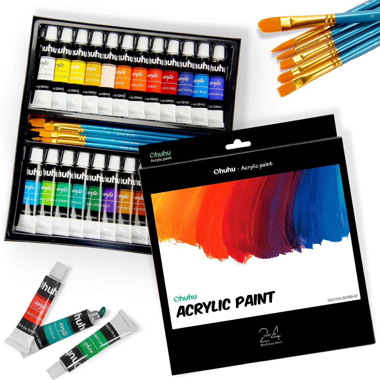 NEW CANVAS ART SET PAINT YOUR OWN PRINCESS PICTURE INC PAINTS /& BRUSH GRAFIX
