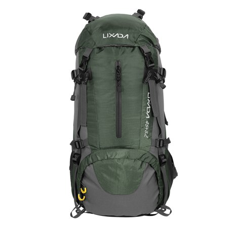 5df3a2ead73c Lixada 50L Water Resistant Outdoor Sport Hiking Camping Travel Backpack Pack  Mountaineering Climbing Backpacking Trekking Bag Knapsack with Rain Cover  ...