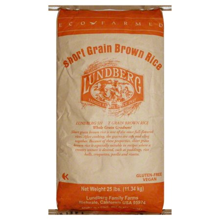 Lundberg® Eco-Farmed Short Grain Brown Rice 25 lb. (Best Short Grain Brown Rice)