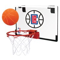 Rawlings NBA Game On Basketball Hoop Set, Los Angeles Clippers