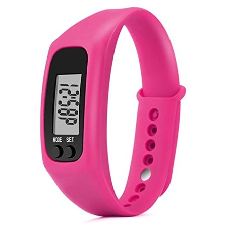 Run Step Watch Sport Bracelet Fitness Tracker Pedometer Calorie Counter Digital LCD Walking (Best Run Walk Interval App)