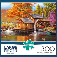 Buffalo Games 300PC LARGE FAMILY Adams Mill - 2546