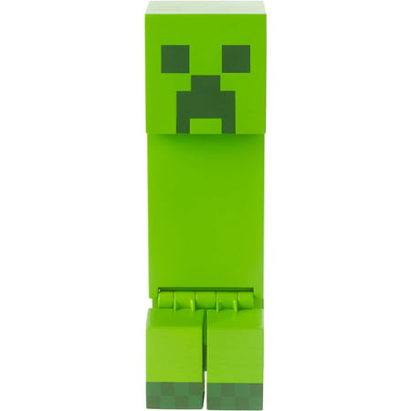 Minecraft Creeper Large-Scale Pixelated Figure, Green - Minecraft Green