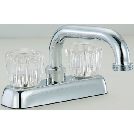 Hardware House Laundry or Utility Tub Faucet - Finish: Chrome Laundry Tub Faucet